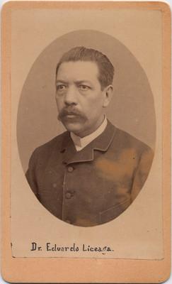 Dr. Eduardo Liceaga, retrato