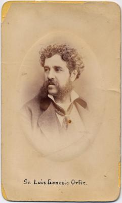 Luis Gonzalo Ortíz, retrato