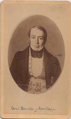 Mariano Paredes y Arrillaga, retrato