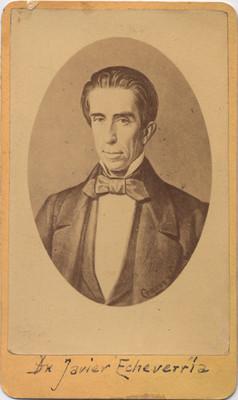 Javier Echeverría, retrato