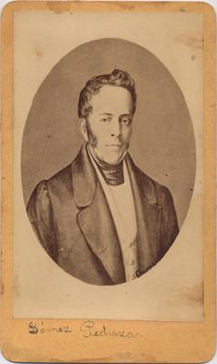 Manuel Gómez Pedraza, retrato
