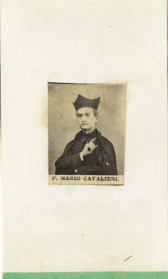 P. Mario Cavalieri, retrato