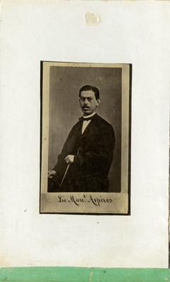 Lic. Manuel Aspiros, retrato