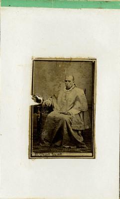 Obispo Garate, retrato