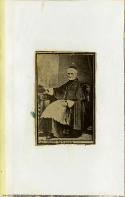 Sr. Obispo Espinoza, retrato