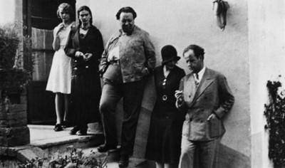Diego Rivera, Frida Kahlo y amigos