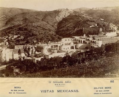 """""""Mina de San Javier"""", panorámica"""