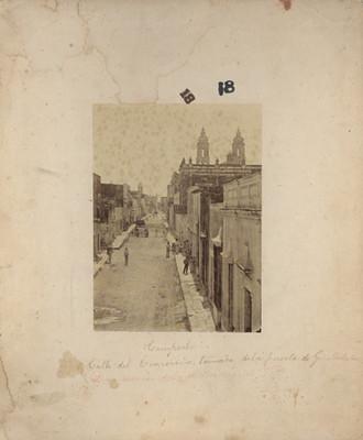 """""""Calle del comercio"""" en """"Campeche"""""""
