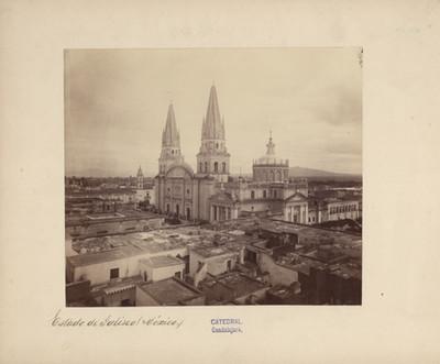 """""""Catedral"""" de Guadalajara, vista panorámica"""