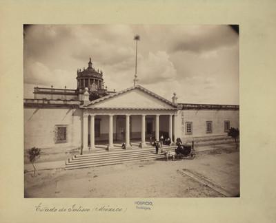 Hospicio Cabañas, fachada
