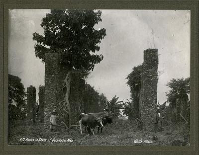 """Ruinas arqueológicas de Guerrero, """"Ruins in State of Guerrero"""""""