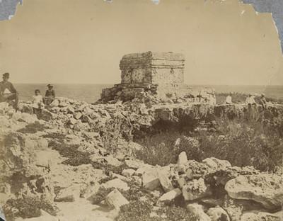 Templo prehispánico en Isla Mujeres