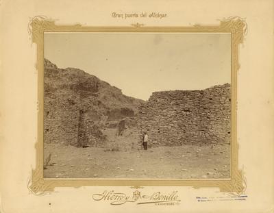 """""""Gran puerta del Alcázar"""", La Quemada"""