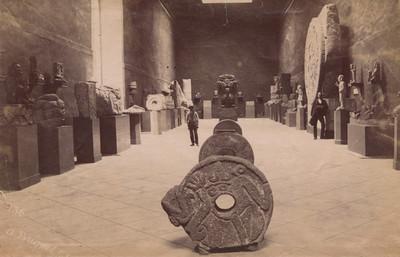 """""""Sala de arqueología"""" del Antiguo Museo Nacional"""