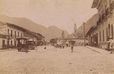 Calle principal en Orizaba