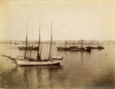 Barcos de vela que prestaban servicios de cabotaje por el litoral del golfo