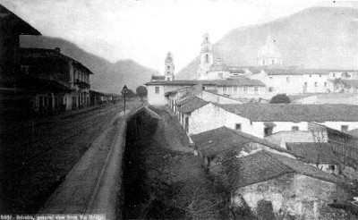 "Puente de Orizaba, ""5651, general view from the Bridge"""