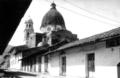 Vista parcial de la iglesia de Veracruz