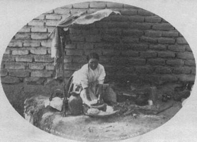 """Preparando tortillas en Aguascalientes, """"5237. Preparing tortillas in Aguascalientes"""""""