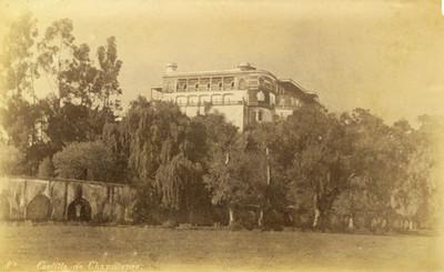 """""""Castillo de Chapultepec"""" y acueducto"""