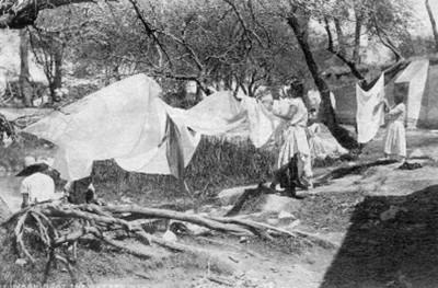 "Lavanderas, ""6278. Washing at the hot springs"""
