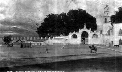 """El Iztaccíhuatl visto desde Amecameca, """"6464. Iztaccihuatl from Amecameca"""""""