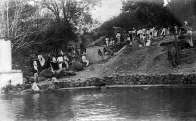 """Depósito de agua cerca de Hercules, """"6422. Bathing tanks near Hercules"""""""