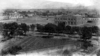 """Vista panorámica de San Luis Potosí, """"5683. Panorama. San Luis Potosi"""""""