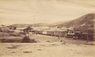 """""""113. Estación de Marfil F. C. Central"""", vista parcial"""