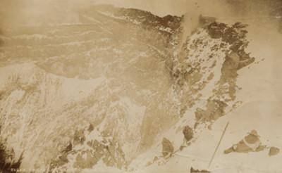 """Crater del Popocatépetl, """"5626A. Crater of Popocatepetl"""""""