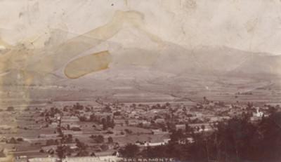"""El Popocatépetl visto desde el Sacromonte, """"5621. Popocatépetl from Sacramonte (sic)."""""""