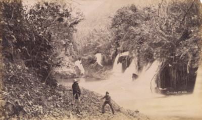 "Cascadas en los alrededores de ""Orizaba"", Veracruz"