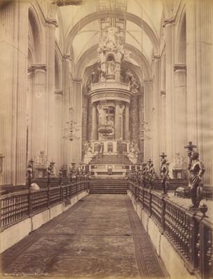 Interior de la Catedral [de] México