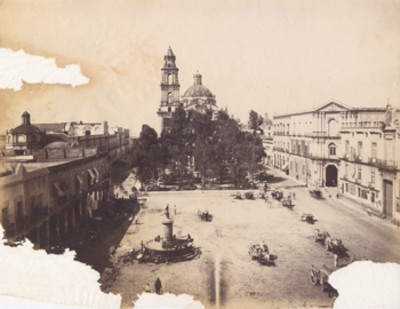 Antigua Plaza de Santo Domingo