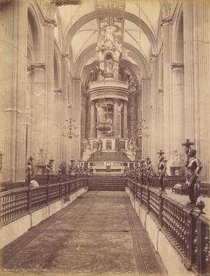 Interior de la Catedral, México