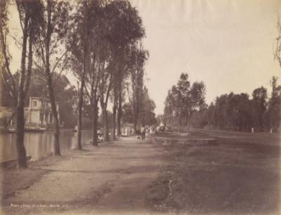 Paseo y canal de la Viga. México. 617
