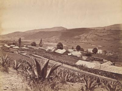 """""""Pueblo de San Francisquito"""", paisaje"""