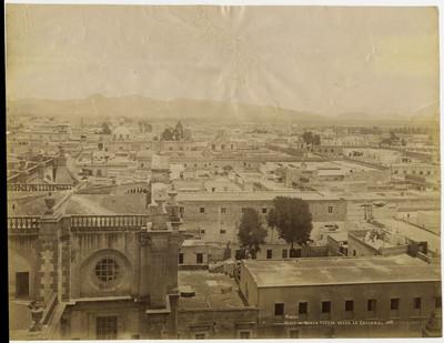 México. Vista al norte tomada desde la catedral. 608