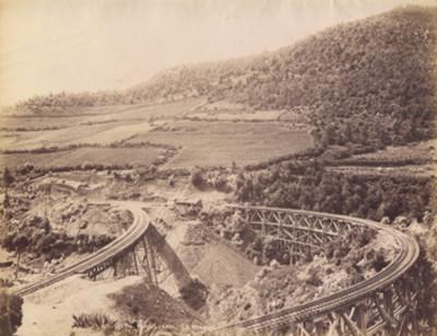 """Puente del Laurel F.C. Nacional"", panorámica"