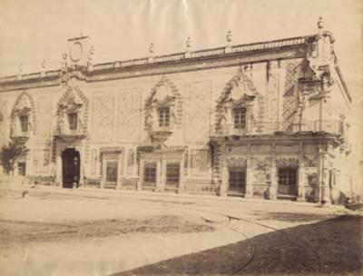 """El """"Palacio [de] Aguascalientes"""""""