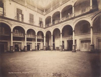 Patio del hotel Yturbide