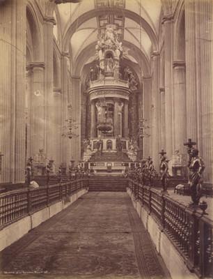 """Interior de la Catedral"" Metropolitana de ""México"""