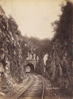 Ferrocarril Mexicano, [vista del] Túnel n° 16