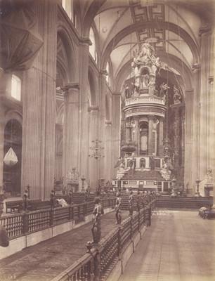 Interior de la Catedral, El Cipres