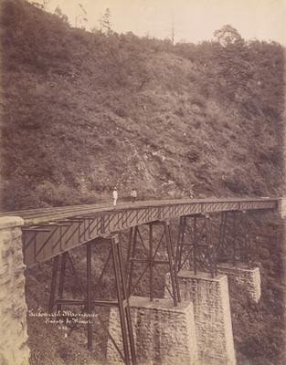 Ferrocarril Mexicano, Puente de Wimer