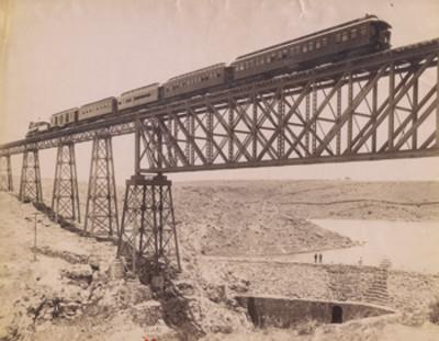 Puente de Encarnación. F.C. Central