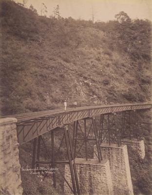 Ferrocarril Mexicano. Puente de Wimer