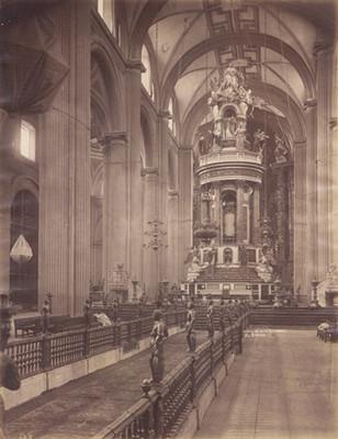 Interior de la Catedral, El Ciprés