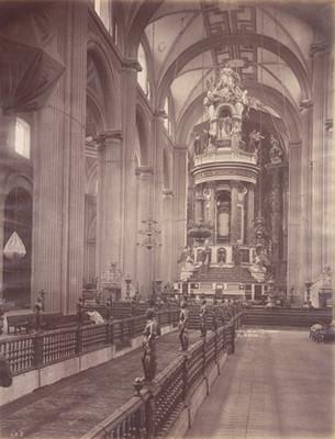 """Interior de la Catedral"""", """"El Cipres"""