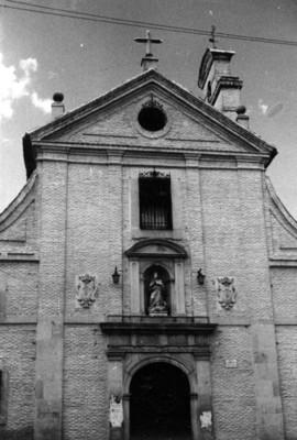 Fachada de iglesia, Toledo